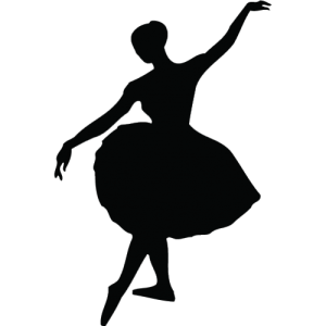 ballet clip art, and text - and voila'!
