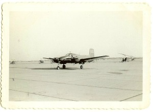I knew I wanted a plane so first I picked this plane (taken in 1953).
