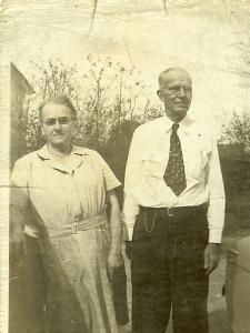Granpa ad Granma Jones