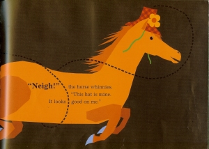hat horse