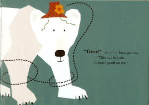 hat polar bear