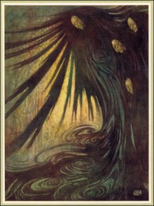 I chose two pictures from artist Edmund Dulac.