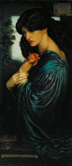 Prosperine-by-Dante-Gabriel-Rossetti