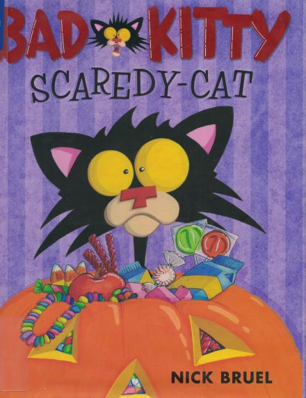 bad kitty scaredy cat a
