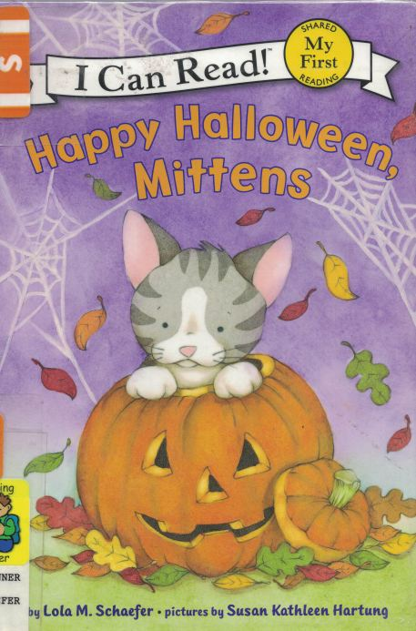 happy halloween mittens a