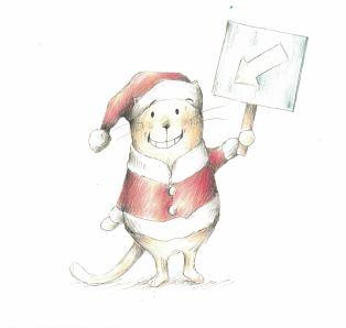 here comes santa cat b