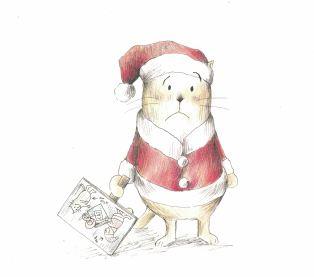 here comes santa cat c