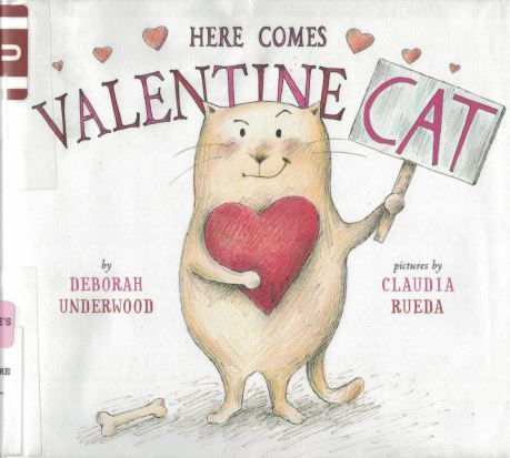 here comes valentine cat a