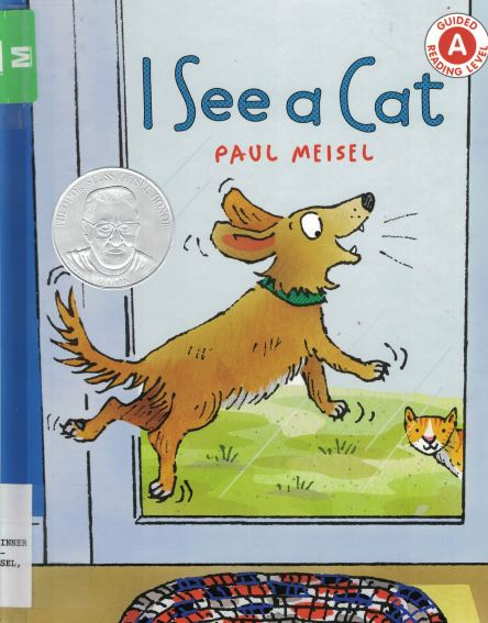 i see a cat a